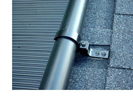 coated stainless steel mounting system for solar pool heaters